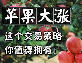 【免费策略,不收提成】苹果-1分钟-激进策略