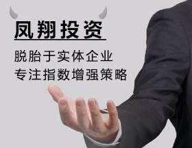 凤翔投资:脱胎于实体企业 专注指数增强策略