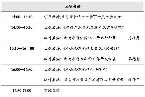 二,会议安排 会议时间:2014年8月23日13:30—17:00 会议地点:义乌市